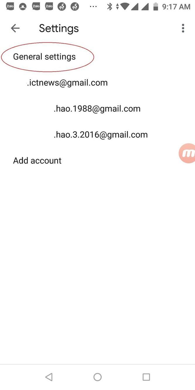Hướng dẫn cài đặt giao diện Gmail nền tối trên điện thoại ảnh 3