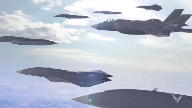 Drone Skyborg, sức mạnh tương lai của Không quân Mỹ ảnh 2