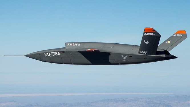 Drone Skyborg, sức mạnh tương lai của Không quân Mỹ ảnh 1