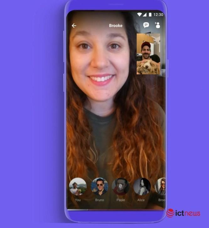 Viber tung tính năng gọi video nhóm lên đến 20 người, không giới hạn thời lượng ảnh 1