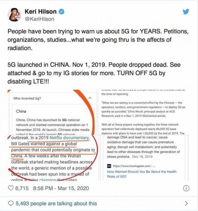 Những thuyết âm mưu hoang đường nhất về công nghệ 5G ảnh 1