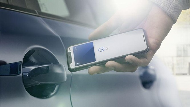 BMW là hãng xe đầu tiên dùng iPhone làm chìa khóa số ảnh 4