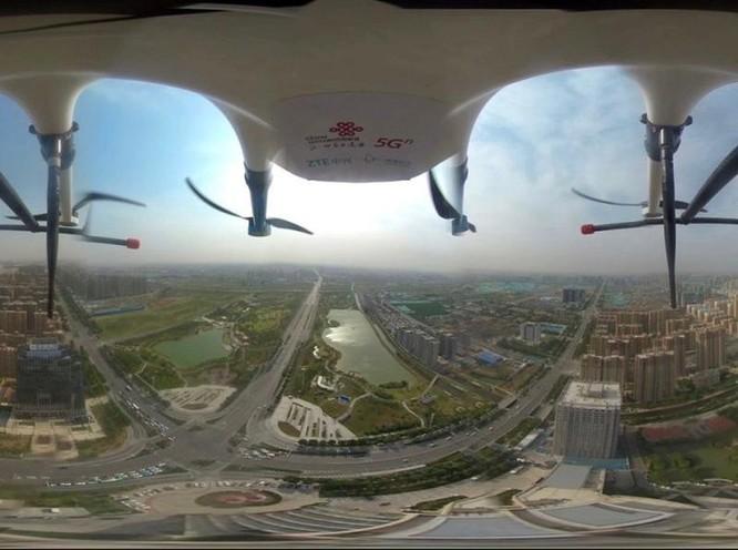 Giải thưởng công nhận thành công ứng dụng UAV 5G ảnh 1