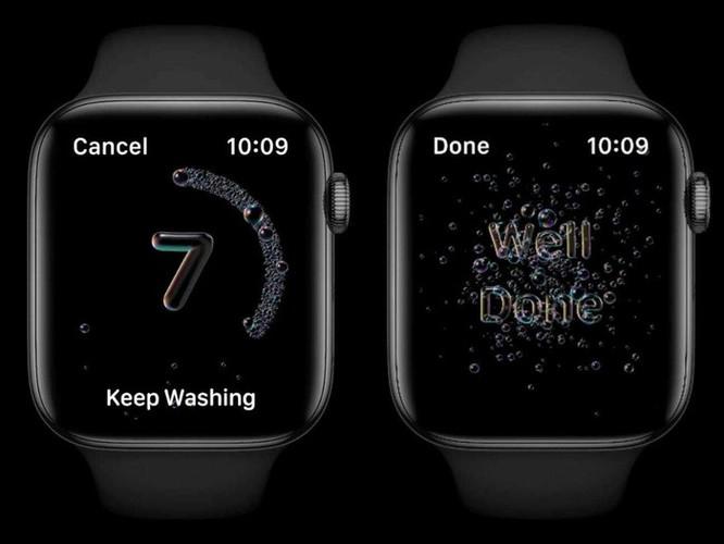 Apple Watch phát hiện người dùng có rửa tay đủ lâu hay không ảnh 1