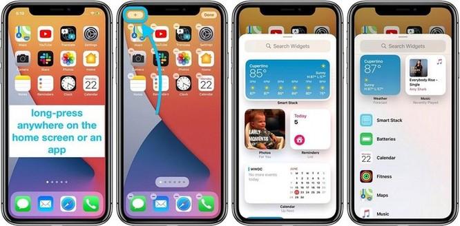 Hướng dẫn sử dụng widget trên iOS 14 ảnh 1