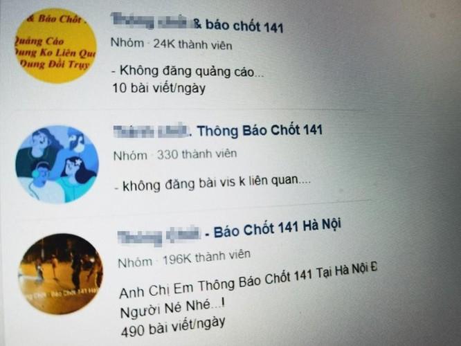 Nhiều nhóm kín độc hại, phi pháp trên Facebook ở Việt Nam ảnh 3