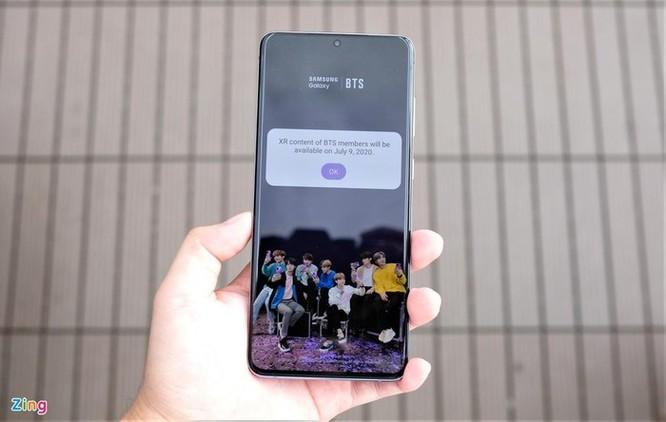 Galaxy S20+ màu tím cho fan BTS ra mắt, giá 25 triệu đồng ảnh 8