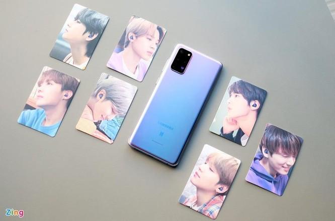 Galaxy S20+ màu tím cho fan BTS ra mắt, giá 25 triệu đồng ảnh 1