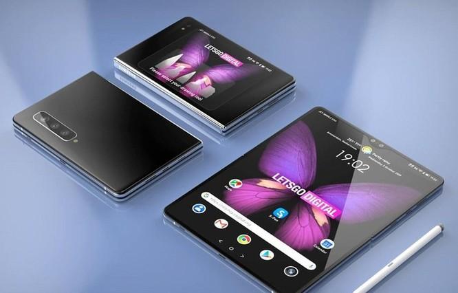 Samsung đặt tên mẫu điện thoại gập mới nhất là Galaxy Z Fold 2 ảnh 1