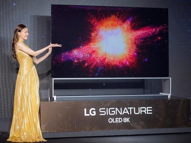 TV OLED 8K đầu tiên có mặt tại thị trường Việt ảnh 1