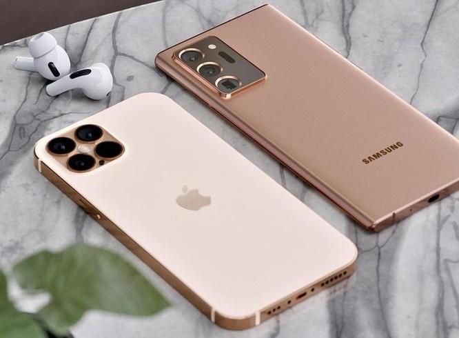 iPhone 12 Pro đối đầu với Galaxy Note20 Ultra trong bộ concept lạ mắt ảnh 1