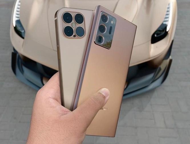 iPhone 12 Pro đối đầu với Galaxy Note20 Ultra trong bộ concept lạ mắt ảnh 2