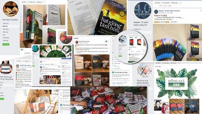 Sẽ khóa vĩnh viễn gian hàng bán sách lậu trên mạng ảnh 1
