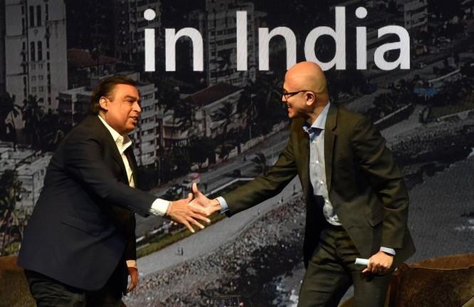 Vì sao 'ông lớn' công nghệ Mỹ đổ xô đầu tư vào Ấn Độ? ảnh 1