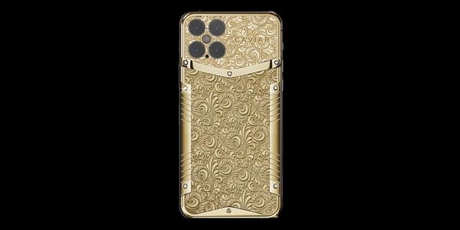 iPhone 12 vàng ròng nạm kim cương giá hơn nửa tỷ đồng ảnh 1