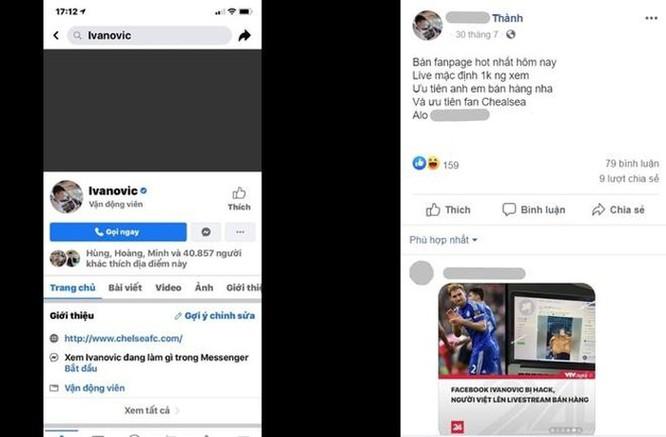 Thanh niên Việt giữ Facebook của Ivanovic là ai? ảnh 3