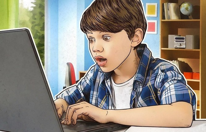 Trẻ em Việt làm gì trên mạng trong thời gian giãn cách xã hội? ảnh 1