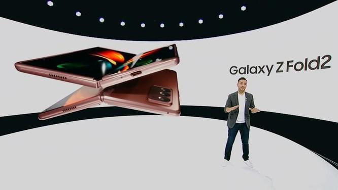 Galaxy Z Fold2 ra mắt - thiết kế mới, nâng cấp bản lề ảnh 2