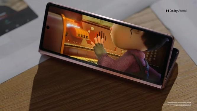 Galaxy Z Fold2 ra mắt - thiết kế mới, nâng cấp bản lề ảnh 3