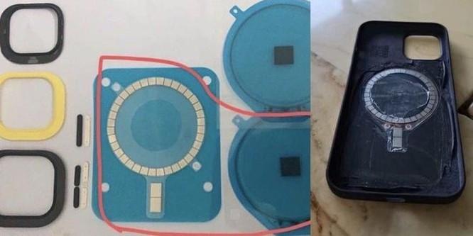 Chi tiết lạ trên lưng iPhone 12 ảnh 1
