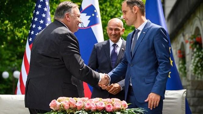 Mỹ, Slovenia ký thỏa thuận siết chặt quản lý mạng 5G ảnh 1