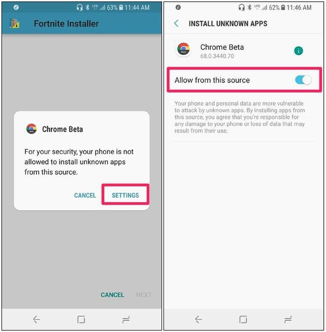 Cách tải game Fortnite về Android không qua Google Play Store ảnh 2