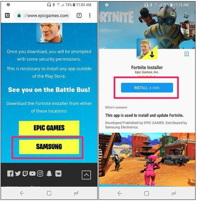 Cách tải game Fortnite về Android không qua Google Play Store ảnh 5