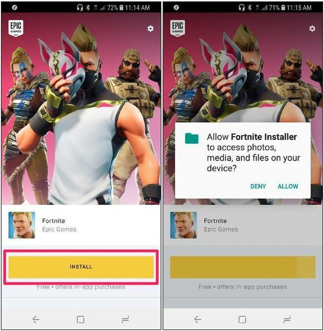 Cách tải game Fortnite về Android không qua Google Play Store ảnh 6