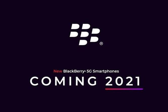 Điện thoại BlackBerry dùng 5G chuẩn bị ra mắt ảnh 1