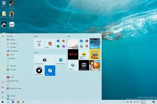 Cách kích hoạt menu Start mới trên Windows 10 ảnh 2