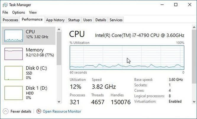 Hướng dẫn theo dõi hiệu suất chạy Windows 10 liên tục bằng cửa sổ nổi ảnh 3