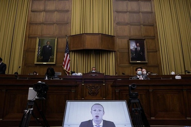 CEO Facebook bị gọi chất vấn riêng trong vụ điều tra chống độc quyền ảnh 1