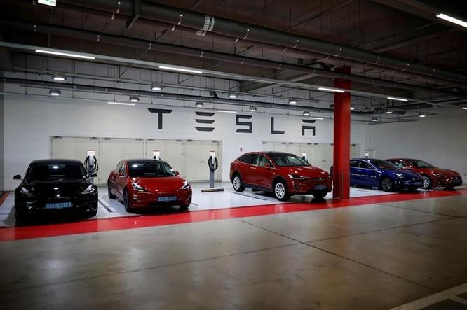 Tesla chờ cấp phép thiết bị phát hiện trẻ trên ô tô ảnh 1