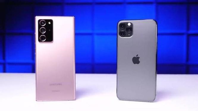 Note20 Ultra bền hơn iPhone 11 Pro Max khi thả rơi ảnh 1
