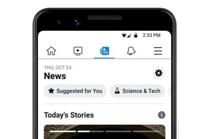 Facebook đẩy nhanh kế hoạch đưa tính năng 'News' ra nước ngoài ảnh 1