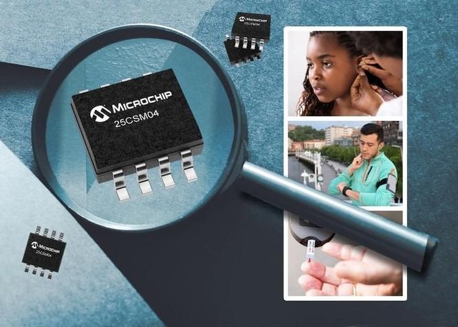 Microchip ra mắt EEPROM Serial 4 Mbit ảnh 1
