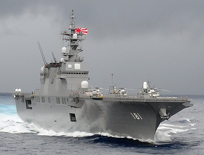 Tàu sân bay trực thăng Izumo của hải quân Nhật Bản