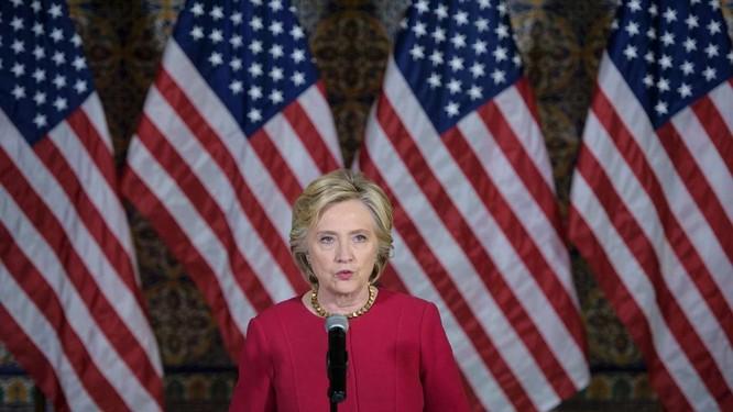Khi còn là Ngoại trưởng Mỹ, bà Clinton đã thẳng thừng tuyên bố Mỹ có lợi ích quốc gia ở Biển Đông