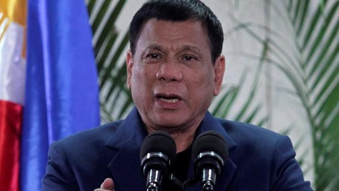 Ông Duterte giải thích về tuyên bố của mình sau chuyến thăm Trung Quốc