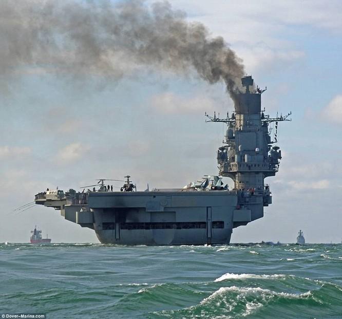 Cụm tác tàu sân bay Nga đang trên đường tới Syria