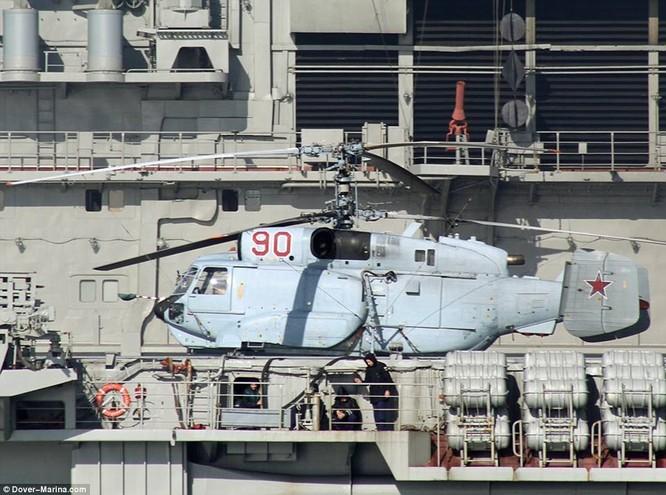 Máy bay trực thăng trên tàu Đô đốc Kuznetsov