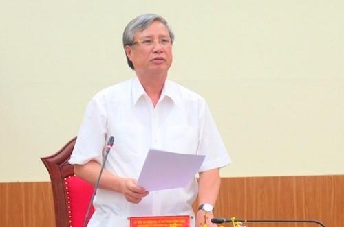 Vụ ông Vũ Huy Hoàng: Đảng xử lý thế nào, chính quyền phải tương ứng ảnh 1