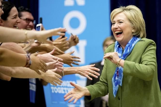 Bà Hillary đang chiếm thế thượng phong trong tuyệt đại đa số các cuộc thăm dò
