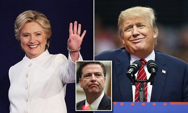 Thế thắng bại của Hillary Clinton và Donald Trump trước giờ G ảnh 1