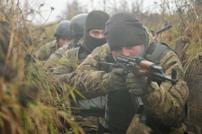 Quân đội Ukraine dù chưa phải thành viên NATO nhưng được Mỹ và phương Tây giúp hiện đại hóa quân đội
