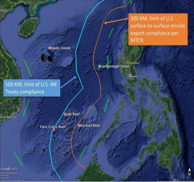 """Biển Đông: Mỹ chuẩn bị """"tên lửa trận"""" đối phó đảo nhân tạo Trung Quốc ảnh 4"""