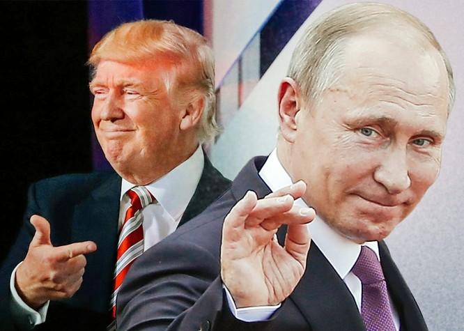 Ông Donald Trump đã dành những lời khen tặng cho tổng thống Nga Putin