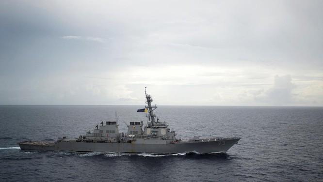 Khu trục hạm Mỹ từng nhiều lần tuần tra thực thi tự do hàng hải ở Biển Đông