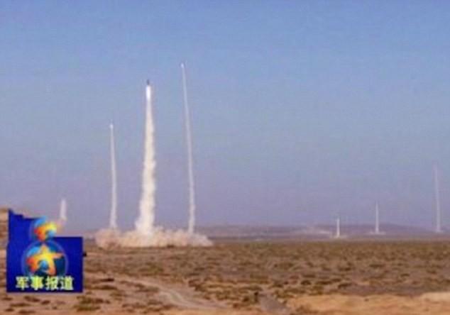 Truyền hình Trung Quốc khoe cảnh phóng tên lửa DF-21