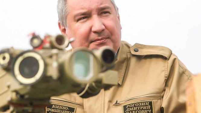 Ông Rogozin là môt nhân vật quyền lực của nước Nga